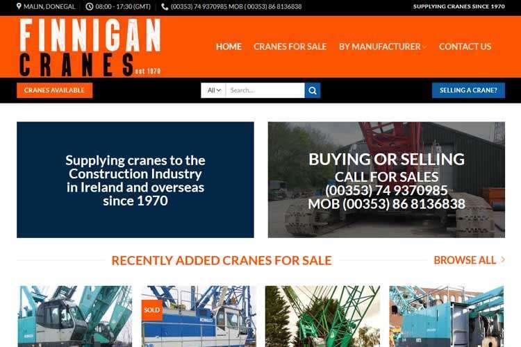 finnigan cranes